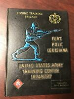 United States Army Fort Polk Louisiana Company D 3rd Battalion Yearbook 1966