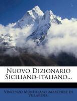 Nuovo Dizionario Siciliano-italiano..., Like New Used, Free shipping in the US