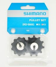 Shimano 105 RD-5800-GS (Medium Cage) 11-Speed Pulley Set  - Jockey Wheels - 11T