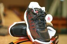 EKTELON RACQUETBALL SHOES NFS CLASSIC LOW  Black/Red Mens size 7