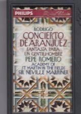 Rodrigo-Concereto De Aranjuez DCC Cassette