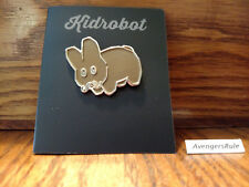 Pinning & Winning 2 Enamel Pin Series The Revenge KidRobot Gold Mustache Labbit
