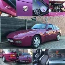 Porsche 944 s2 - Star Ruby  3.0L 4cyl.