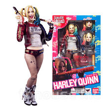 "S.H. Figuarts Harley Quinn Suicide Squad Bandai 6"" Figure BRAND NEW IN STOCK"