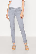 Ladies Slim Skinny EX FAMOUS MAKE Coloured ESPRIT Jeans With Decorative ZIP-LGG
