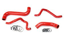 HPS Red Silicone Radiator + Heater Hose Kit Coolant OEM Replacement 57-1734-RED