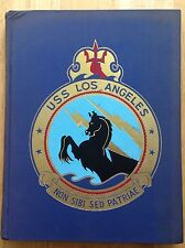 1957 1958 USS LOS ANGELES CA-135 FAR EAST CRUISE BOOK, U.S. NAVY, VINTAGE