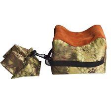 Large SHOOTING BAG SET Front & Rear Bags Gun Rest Range Rifle Target Hunting Kit