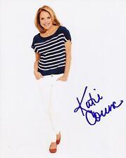 Katie Couric Signed Autograph 8x10 Photograph