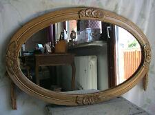 Spiegel Art Deco Frankreich Blumen gold Holz Wandspiegel antik french mirror