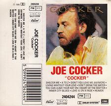 "K 7 AUDIO (TAPE)  JOE COCKER  ""COCKER"""