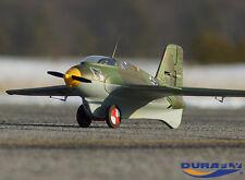 Durafly Me-163 Komet RC Plane 1-Piece Wing-Body Original Version Super Fast Rare