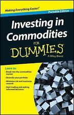 Investing in Commodities for Dummies (Paperback or Softback)