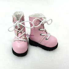 "16cm Lati Yellow Basic Bjd 12"" Blythe Pullip Doll Shoes High Hill Boots PINK"