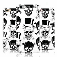 DYEFOR SKULL PATTERN HAT BONE SPLASH CASE COVER FOR APPLE IPHONE MOBILE PHONES