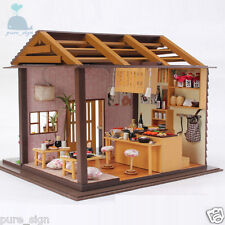 DIY Handcraft Miniature Project The Sakura Sushi Bar In Kyoto Wooden Dolls House