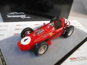 TM18116A by TECNOMODEL FERRARI DINO 246 F1 WINNER GP FRANCE 1958 HAWTHORN 1/18