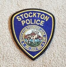 Stockton California Police Shoulder Patch