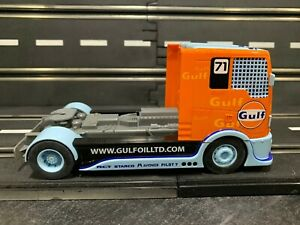 1/32 Scalextric Gulf Racing Truck ANALOG