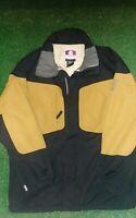 Vintage Burton Snowboards Toast Gold Snowboarding Jacket Size Medium (M)