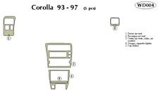 TOYOTA COROLLA 1993 1994 1995 1996 1997 DASH TRIM KIT