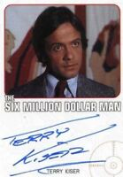 Bionic Collection Six Million Dollar Man Terry Kiser Autograph Card