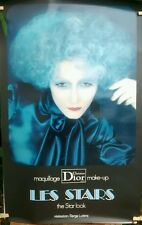 "1980's   French Poster Advertising ""Christian Dior "" Fragrance Serge Lutens"
