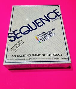 *BRAND NEW** *NIB* New Sequence An Exciting Game of Strategy Board Game