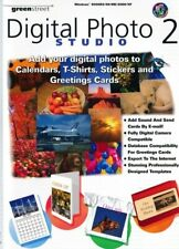Digital Photo Studio 2-Grußkarten T-Shirts Software-PC (CD in Hülle)