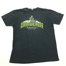 StormBreaker Brewing Portland Oregon Beer Shirt Adult Size M Relaxed Breweriana