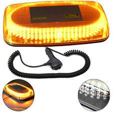 HQRP Luz estroboscópica ámbar / amarilla con base magnética para techo de coche