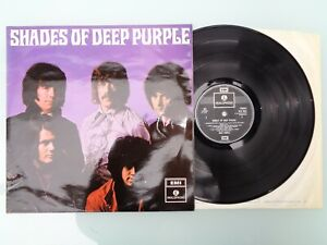 DEEP PURPLE-SHADES OF DEEP PURPLE..RARE! EARLY UK PRESS EX VINYL LP RECORD 1968