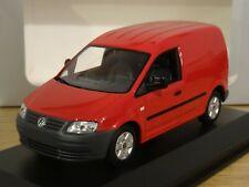MINICHAMPS VOLKSWAGEN VW CADDY RED VAN MODEL 1203 1:43