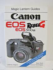 Magic Lantern Guides Canon EOS Rebel G / 500n Camera Instructions S