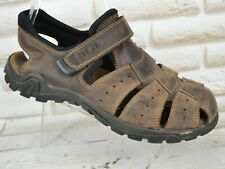ARA Mens Brown Leather Sandals Strappy Summer Walking Shoe Size 8 UK 42 EU
