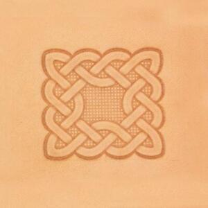 Ivan 3D Leather Stamp - Celtic Rectangle (8601-00)