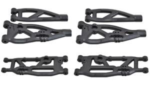 New Arrma Outcast Kraton Talion RPM Suspension Arms A-Arms Set Front Rear Black