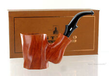 Pipe CASTELLO COLLECTION KKK clear smooth shape cherrywood poker stand up