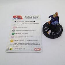 Heroclix Captain America: Winter Soldier set Captain America & Black Widow #017!