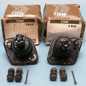 NOS Pair TRW 10129 (Moog K8212) Upper Ball Joints 1959-1978 Thunderbird Lincoln