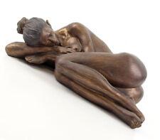 NUDE LADY AKT FIGUR schlafende junge FRAU, naked BEAUTY - EROTIK FIGUR liegend !