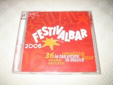 FESTIVALBAR 2006- COMPILATION ROSSA (2 CD SET) (2006) CD ALBUM ITALIAN MUSIC VAR