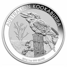 Australian Kookaburra Uncertified Silver Bullions