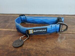 RUFFWEAR HOOPIE™ collar. medium, blue, brand new. Ships from USA.