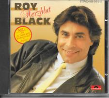 ROY BLACK - Herzblut CD Album 12TR West Germany 1986 Schlager (POLYDOR)