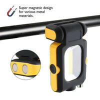 Multifunction COB LED Work Light Lamp Flashlight Rechargeable Car Magnetic Torch