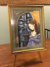 Cynthia Cummens Star Wars Darth Vader Padme Amidala Pastel Painting