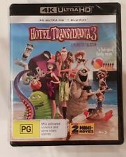 Hotel Transylvania 3 A Monster Vacation 4K U HD + Blu-ray Brand New & Sealed
