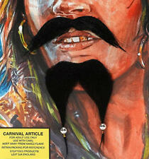 Black Jack Sparrow Beard & Moustache Pirates Of The Caribbean Party Fancy Dress