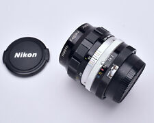 Nikon Nippon Kogaku Japan NIKKOR-O Auto 35mm f/2 Wide Angle Lens Caps (#4735)